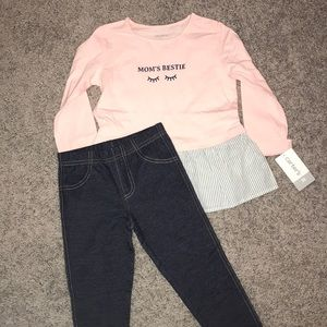 Carter's Toddler Girl Mom's Bestie Outfit